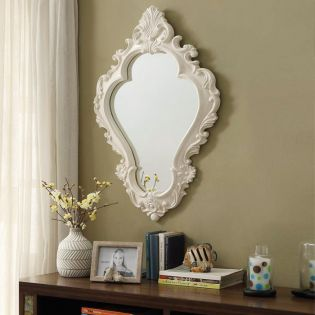 Manor-Ivory  Wall Mirror