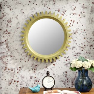 Sun-Green  Wall Mirror