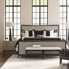 Symphony 5640-4105K  Panel Bed (침대+협탁+화장대)