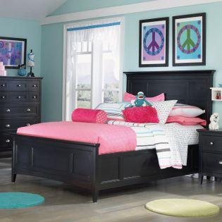 Y1874-64  Full Panel Bed (침대)(매트 규격: 134cmx 193cm)