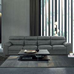 10020  Leather Sofa (2+2)