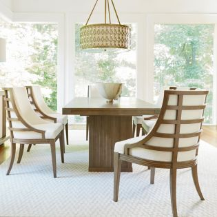 Synchronicity 628655  Dining Set (1 Table + 6 Chairs)