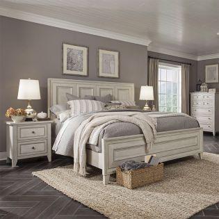 B4220  Panel Bed (침대+협탁+화장대)