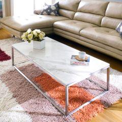 Bran-Rectangular  Marble Rectangular Coffee Table