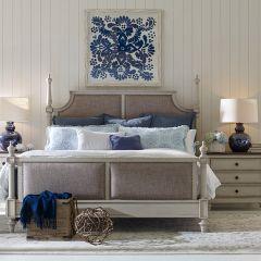 6400-4207K Brookhaven  Upholstered Bed (침대+협탁+화장대)