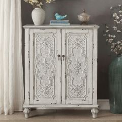 Brittney-Antique White  Accent Chest