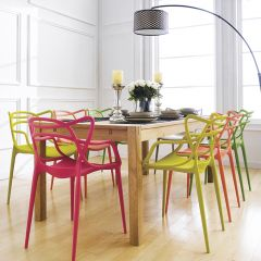 Cope-PP-601  Dining Set  (1 Table + 6 Chairs)