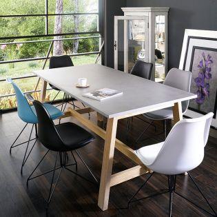 Kodiak-6C  Dining Set  (1 Table + 6 Chairs)