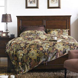 Tamarack-Brown  Queen Panel Bed(침대+협탁+화장대)