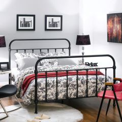 H9293-Q  Queen Metal Bed