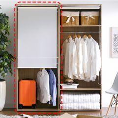 WD-580-A-RS  Hanger Closet w/ Roll Screen