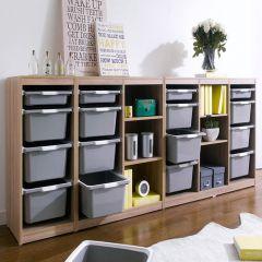 Kreo-GRY-2400  Storage Box    (3 Pcs)