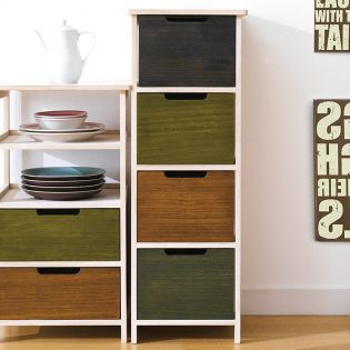 Catarina-4  4-Drawer Chest