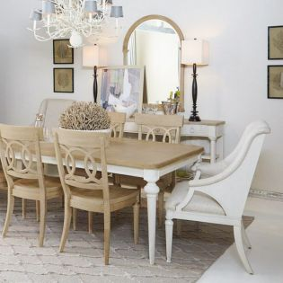 Roseline Lucy  Dining Set (1 Table + 2 Arm + 4 Side)