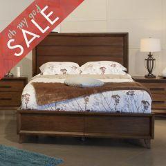 361 QueenPanel Bed (침대+협탁+화장대)