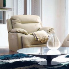 E1327  Power Leather Recliner Chair
