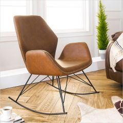 Stockholm-Brown  Rocking Chair