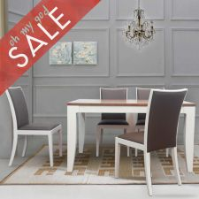 Aetro  Dining Set (1 Table + 4 Chairs)