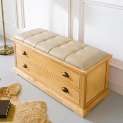 Marin-Natural  Storage Bench