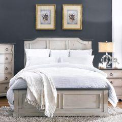 816 Avalon Cove  Panel Bed (침대+협탁+화장대)