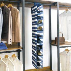 05640ES Rugby 10-Shelf Shoe Organizer