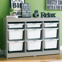 Kreo-GRY-WHT-9  Storage Box