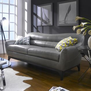 8800-30  Leather Sofa