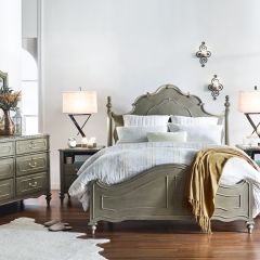 Madison  Queen Panel Bed  (침대+협탁+화장대)