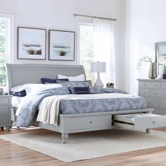 FR-ICB-400-KD-1 New Sleigh Storage Bed