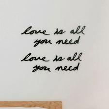 470580-040 Mantra Love-10 Wall Décor