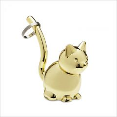 299212-104 Zoola Cat-Brass Ring Holder