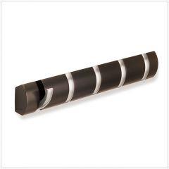 318850-213 FLIP 5-Espresso Hanger