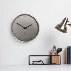 1004385-410 Meta-Nickel Wall Clock