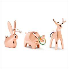 1009158-880 3-Pack Copper Ring Holder