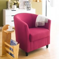 Club Lux-Red  Resting Chair