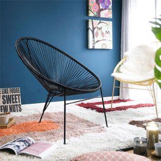 Jess-Black  String Chair