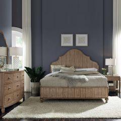 W1049-91K  Panel Bed(침대+협탁+화장대)