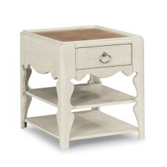 W1449-016   Scroll Leg End Table