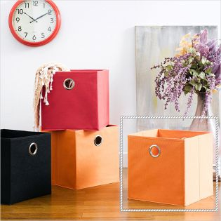 Deco Box-Orange  Foldable Box