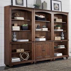i07-333-WBR  Open Bookcase