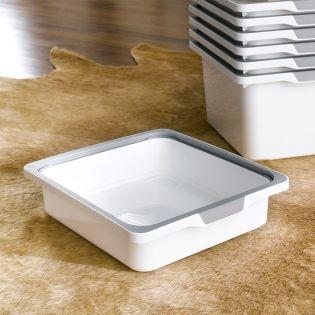 KB-WHT-SMALL  Storage Box