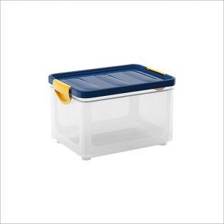 Clipper Blue-M  Storage Box w/  Lid