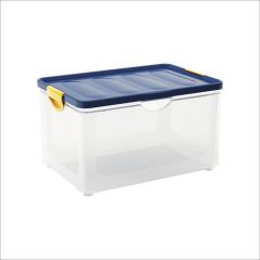 Clipper Blue-XL  Storage Box w/  Lid