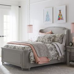 B537-53-147  Queen Upholstered Bed (침대+협탁+화장대)