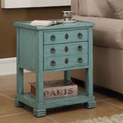 78724  2-Drawer Side Table