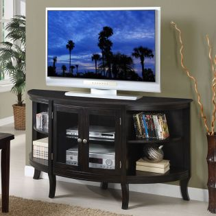 """ZR-B1460 Beaumont  Wood Top 60"""" TV Stand"""