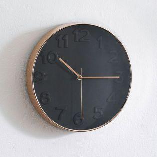 WC-3304-Black Wall Clock