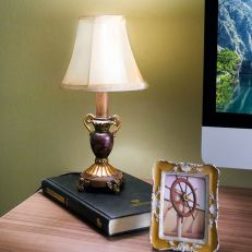 93-345-D  Library Lamp