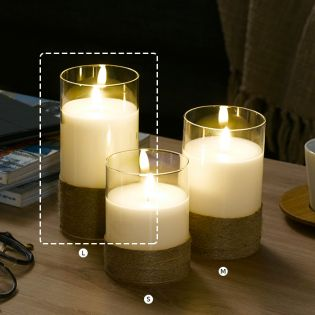 Celina-L  LED Candle