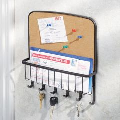 54799ES  Corkboard Mail Center